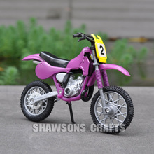DIECAST MODEL TOYS 1:18 SUZUKI DIRT BIKE MINIATURE MOTORCYCLE REPLICA