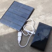 3.5W 6V USB Solar Charger Panel Solar Droplet DIY Mobile Power Supply Mobile Phone Power Bank(China)