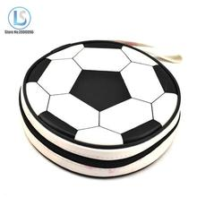 Football Design 24 Sleeves Game CD Storage Bags DVD VCD Discs Slots Organizer Wallet Storage Sheet Case Holder A200