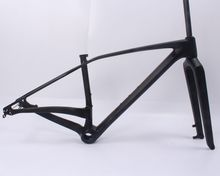 Top sell full carbon bicycle frame 29er mtb carbon frame carbon mountain bike frame size 650B+/29/29er plus