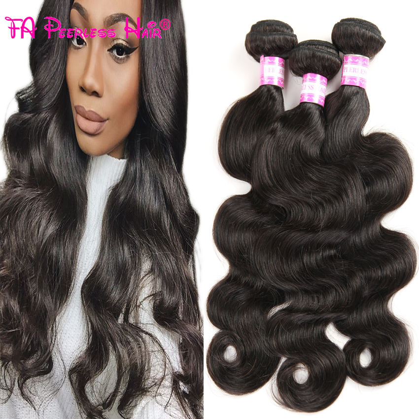 Brazilian Body Wave Hair 3 Bundles Human Weft Hair Extensions Ali Kings Hair Cabelo Humano Barato Brazilan Virgin Hair Body Wave<br><br>Aliexpress