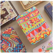 Good quality graffiti style crack with cover tin storage box pencil case wedding candy boxes best gifts 5pcs/lots mix color(China)