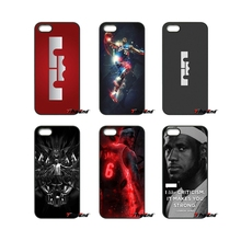 King LeBron James Basketball Star Logo Phone Case For iPhone 4 4S 5 5C SE 6 6S 7 Plus Samsung Galaxy Grand Core Prime Alpha(China)