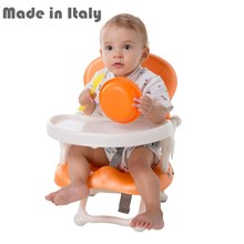 i-baby Smarty Deluxe Comfort Folding Baby Booster Seat Portable Feeding Chair Infant Seat Safety Belt Harness High Chair(China)
