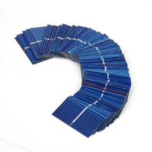 100pcs 0.12W 0.5V 0.24A 3919 39*19mm Polycrystalline Silicon Solar Panel Solar Cell DIY Charger Battery