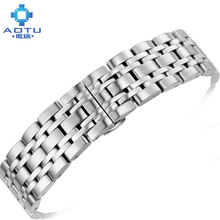 Stainless Steel Watchbands For Armani/Casio Men Watch Straps For ar2434 ar2435 ar2437 Women Watchstrap Top Brand Clock Bracelet