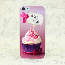 227F cupcake eat me pls Hard Transparent Case Cover for iPhone 7 7 Plus 4 4s 5 5s 5c SE 6 6s Plus