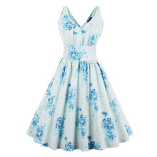 Sisjuly Women Summer Light Blue Dress Women Clothes Strapless Cotton Knee-Length Female Dress Sleeveless A-Line Girls Dress
