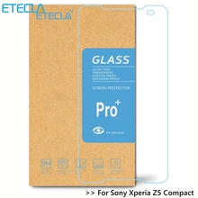 Buy Sony Xperia Z5 Compact Tempered Glass Soni Experia Z5 Compact Glass Z5 Mini Screen Protector E5823 E5803 Premium Film for $1.62 in AliExpress store