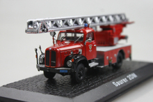 ATLAS 1: 72 Saurer 2DM the old fire truck alloy car models ambulance
