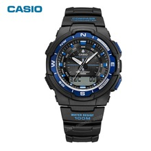 CASIO WATCH Outdoor climbing series Luxury Brand Date Men's Casual relogio masculino Compass World time Multifunction SGW-500