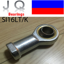 JQ Bearings 16mm SIL16 SIL16TK SIL16T/K PHSAL16 Rod End Joint Bearing Metric Female Left Hand Thread M16X2mm Rod End Bearing