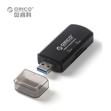 ORICO USB3.0 Dual Card Reader ,USB 3.0 Micro SD TF Memory Card Reader Max Support 128GB for Computer USB 3.0 Card Readers