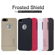 100% Original Nillkin Brand frosted shield for iphone 5 5s for iphone SE Case free shipping full tracking and retail package(China)