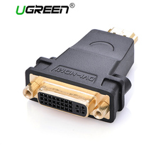 Ugreen HDMI to DVI female to HDMI male Converter adapter Support 1080P for HDTV Plasma DVD  Projector