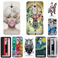 "Soft Silicone TPU Cover Case For ASUS Zenfone 2 ZE551ML ZE550ML 5.5"" Fashion Phone Case For ASUS Zenfone 2 Zenfone2 Case ZE551ML(China)"