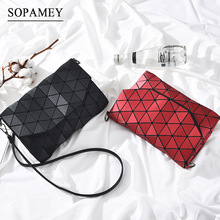 Buy 2017 New Women Evening Bag Small Plaid Geometric Envelope Handbag Women Clutch Ladies Purse Crossbody Messenger Shoulder Bags for $12.99 in AliExpress store
