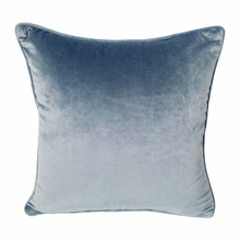 Very Soft  Solid Gray Velvet Pipping Cushion Cover Soft Square Sofa Pillow Case 45x45cm Sell by piece