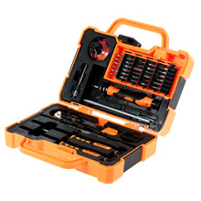 Buy JAKEMY 45 1 Professional Electronic Precision Screwdriver Set Hand Tool Box Set Opening Tools iPhone PC Repair Tools Kit for $35.00 in AliExpress store