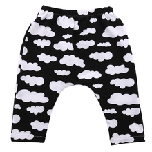 Hi Hi Baby Store USA Cute Toddler Kids Boy Girl Harem Pants Trousers Slacks Bottoms Clothing 2-7Y