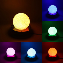 Colors LED Crystal Magic Ball Scene lamp Stage Light Lamp Stage Lighting Auto & Sound Control DJ Disco Party KTV Light(China)