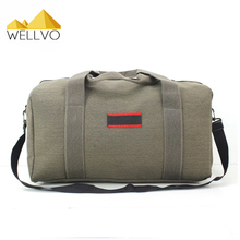 2017 Hot Sale Men Army Green Large Capacity Canvas Backpack Portable Travel Airport Train Handbag Working Out Package XA1743C