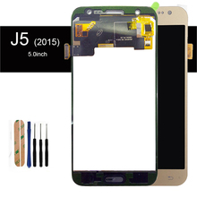 szHAIyu Tested Good Adjust Brightness LCD Display + Touch Screen For Samsung Galaxy J5 J500F J500FN J500M J500Y 2015 LCD 1(China)