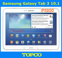 "Samsung Galaxy Tab 3 10.1 P5200 Original Unlocked 3G Dual-core Android Mobile Phone Tablet 10.1"" 3.2MP WIFI GPS 16GB ROM(China)"