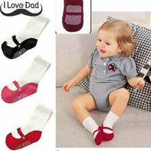 Newborn Baby Socks calcetines Boys Girls Summer Shoe Socks Cute Mini Footgear Infant Kids Non-Slip Socks(China)