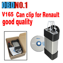 Hot Sale Renault CAN Clip OBD2 Diagnostic Interface V165 Renault Clip Scanner Professional Tool