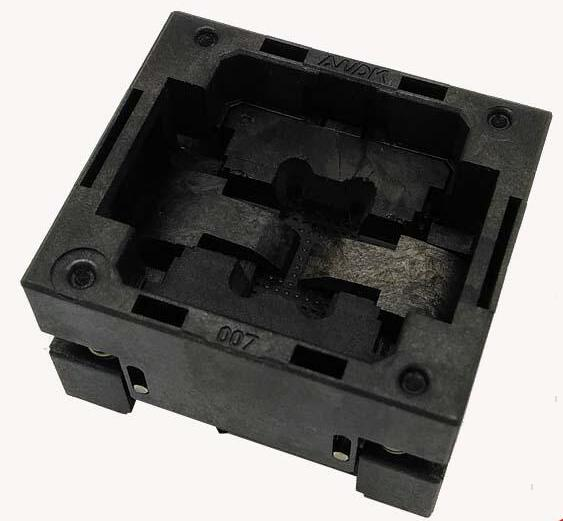 BGA48 OPEN TOP socket pitch 0.8 IC size 10.95*11.95mm BGA48(10.95*11.95)-0.8-TP06/50N BGA48 VFBGA48 Burn in/programmer socket<br><br>Aliexpress