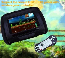 Car Headrest DVD Player LCD Screen Car Pillow Player Backseat Monitor Support Game Play VCD / DVD / MPEG4 Remote Control(China)