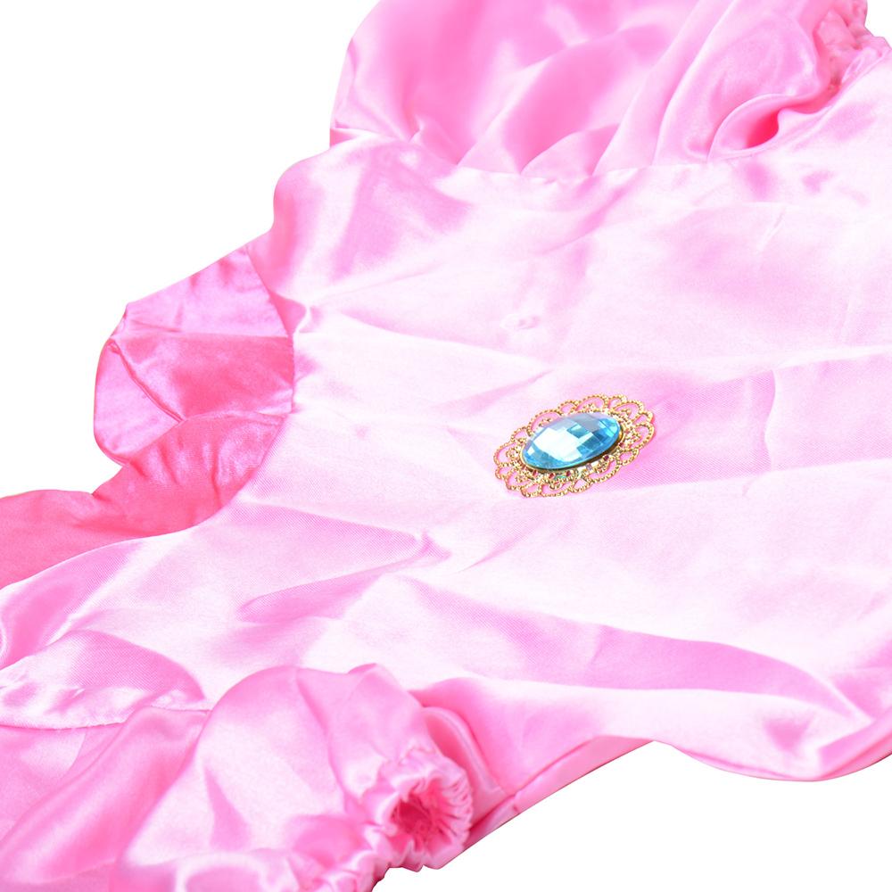 Little Princess Peach Costume Super Mario Brothers Princess Cosplay