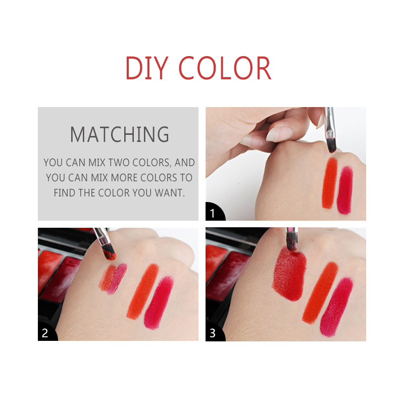 LOVE ALPHA 8 Color Lip Gloss Transparent Nude Colors Moisturizing Nutritious Liquid Matte Lipstick Long Lasting Makeup Cosmetics (6)