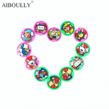 [AIBOULLY] Japanese Anime Yokai Watch DX Peripheral  Yo-Kai Wrist Watch Medals Collection Emblem Toy 879