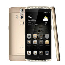 "ZTE Axon A2015 Mobile Phone Snapdragon Android 3GB + 32GB 4G FDD-LTE 5.5 ""FHD 3000 mAh Double Back Fingerprint Digital Cameras(China)"