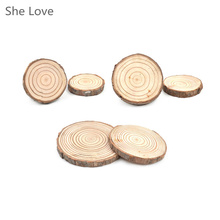 Random 1 Pc Natural Wood Carved Coaster Drink Holder Tea Coffee Cup Mat Pad Table Decor Tableware(China)