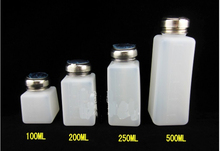 Brand New High quality 100ml+ 200ml+250ml+500ml Capacity Liquid Push Down Oil Alcohol Dispenser Clear Bottle Container