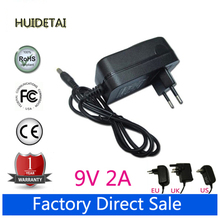 EU Plug Wall Charger Power Adapter 9V 2A for Tablet PC Aoson M19 PIPO M2 M3 M8 M8 3G Tablets(China)