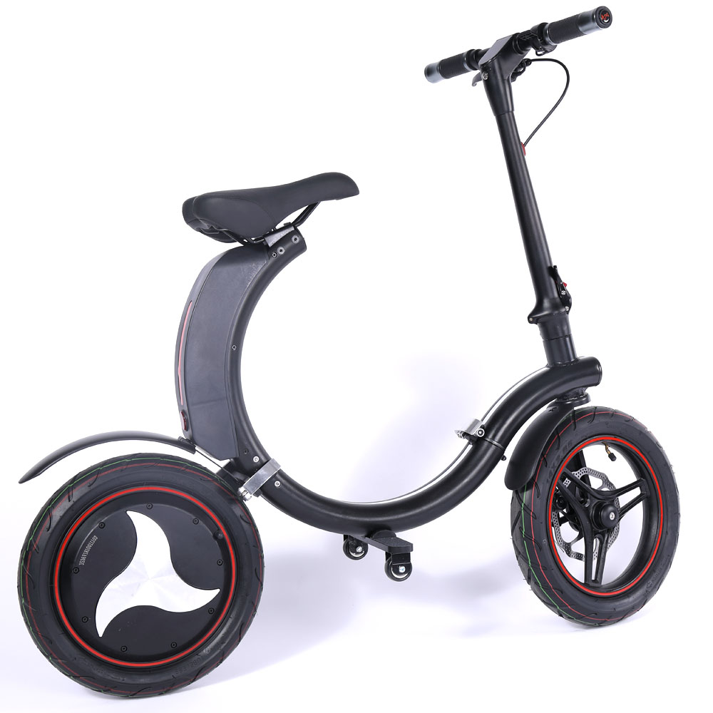 Electric Scooter Folding E-Scooter Sports Adult Kids White USED ^/_^