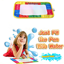 Essential Creative Doodle 29 X 19Cm Children Aqua Doodle Drawing Mat + Magic Pen Educational Toy Drawing Board For Baby Toys