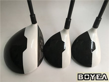 Brand New Boyea M2 Wood Set Boyea M2 Golf Woods Golf Clubs Driver +Fairway Woods R/S/SR/X Flex Graphite Shaft With Head Cover