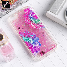 Soft TPU Quicksand Phone Cases For Apple iPod Touch 5 5th 5G touch5 Touch 6 6th touch6 Covers Silicone Phone Back Shell Housing