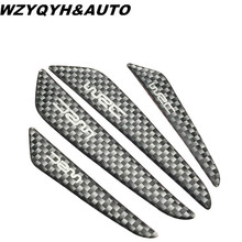 Buy HOT Car Door Protector Door side Edge Protection Guards Stickers universal car carbon fiber black silver gray free for $1.24 in AliExpress store