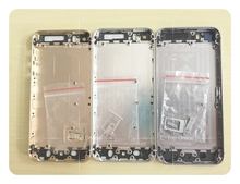 With buttons Replacement Full chassis For iphone 5 5g 5s Back housing 5S  metal alloy cover battery door + tracking