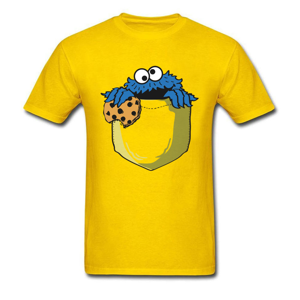 crumbs in my pocket 5964 Mother Day All Coon Crew Neck Tops & Tees Short Sleeve Gift Clothing Shirt Rife Casual Top T-shirts crumbs in my pocket 5964 yellow