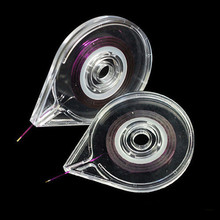 6.6 x 8.4 CM Clear Nail Art Striping Tape Line Case Sticker Box Holder Easy Use Design DIY Useful Nail Tools JH170