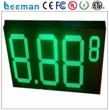 leeman outdoor displays gas stations signs/gas station led price sign/digital gas price sign