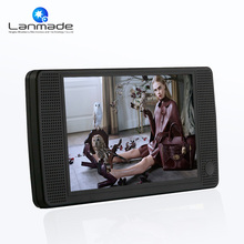 MP4 Auto play digital advertising display for sale 7 inch H.264 retail external push button