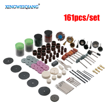 XINGWEIANG 161pcs BIT SET SUIT MINI DRILL ROTARY TOOL & FIT DREMEL Grinding,Carving,Polishing tool sets,grinder head